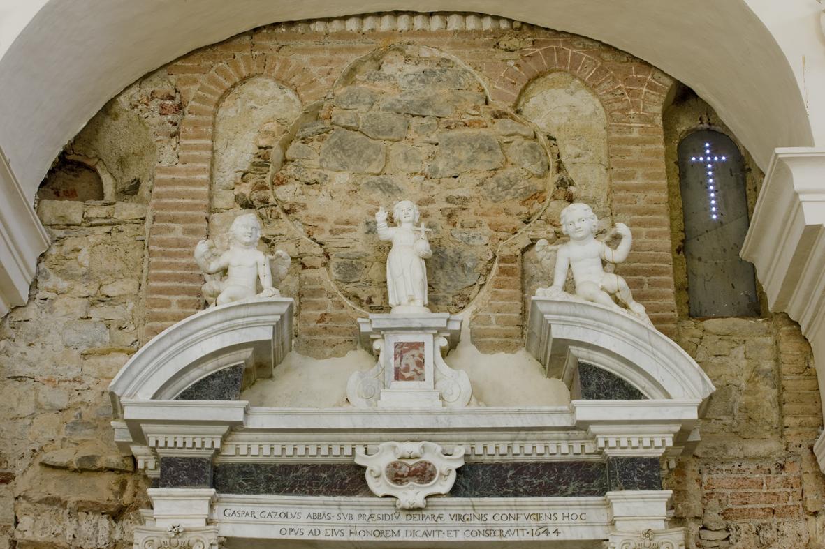 Altare di destra - Volta
