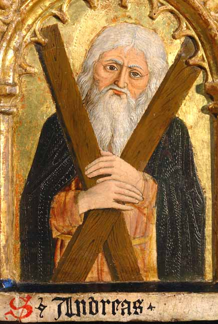 Sant'Andre Apostolo, il protoclito dans immagini sacre andrea2